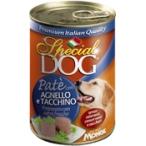 Корм Special Dog консервы для собак паштет ягненок с индейкой, 400 г