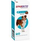 Бравекто (Intervet) жевательная таблетка для собак весом 20-40 кг, от клещей и блох, 1000 мг