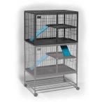 Midwest надстройка-этаж к клетке для хорьков 91,4х63,5х62,2h см