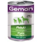 Корм Gemon Dog консервы для собак паштет ягненок, 400 г