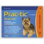 Novartis Elanco Прак-тик для собак 2-4,5 кг (3 пипетки)