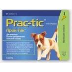 Novartis Elanco Прак-тик для собак 4,5-11 кг (3 пипетки)