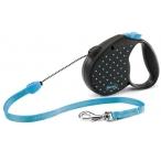 Flexi рулетка Color М (до 20 кг) трос 5 м голубая