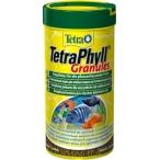 Tetra TetraPhyll Granules корм для всех видов рыб растительные гранулы, 250 мл