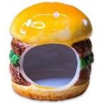 """КерамикАрт домик для грызунов """"Бургер"""""""