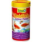 Tetra Goldfish Colour Flakes корм в хлопьях для улучшения окраса золотых рыб, 100 мл