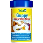Tetra Guppy Colour Mini Flakes корм для гуппи для улучшения окраса, 100 мл