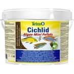 Tetra Cichlid Algae Mini Pellets корм для всех видов цихлид (ведро), 10 л