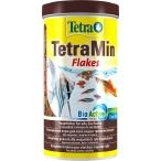 Tetra TetraMin корм для всех видов рыб Flakes в виде хлопьев, 1 л