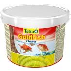 Tetra Goldfish Flakes корм в хлопьях для всех видов золотых рыбок (ведро), 10 л