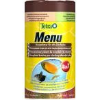 """Tetra Menu корм для всех видов рыб """"4 вида"""" мелких хлопьев, 250 мл"""