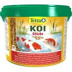 Tetra Pond Koi Sticks основной корм для кои, палочки, 10 л