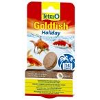 Tetra Goldfish Holiday корм для золотых рыб, твердый гель, 2шт/12 г