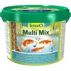 Tetra Pond MultiMix корм для пруд.рыб (гранулы, хлопья, таблетки, гаммарус), 10 л