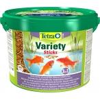 Tetra Pond Variety Sticks корм для прудовых рыб (3 вида палочек), 10 л
