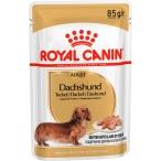 Корм Royal Canin Dachshund Adult (паштет) для таксы старше 10 мес., 85 г