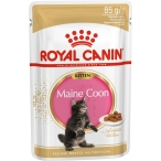 Корм Royal Canin Maine Coon Kitten (в соусе) для котят породы мейн кун от 3 до 15 мес., 85 г
