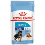Корм Royal Canin Maxi Puppy (в соусе) для щенков крупных пород 2-15 мес., 140 г