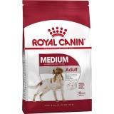 Корм Royal Canin Medium Adult для собак средних пород (11-25 кг), 1-7 лет, 15 кг
