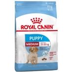 Корм Royal Canin Medium Puppy для щенков средних пород 2-12 мес., 15 кг