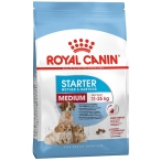 Корм Royal Canin Medium Starter для щенков средних пород до 2 мес., беременных и кормящих сук, 12 кг