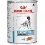 Корм Royal Canin Sensitivity Control (паштет) для собак с пищевой аллергией/непереносимостью, с уткой и рисом, 420 г