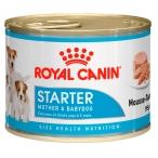 Корм Royal Canin Starter (мусс) для щенков до 2 мес., беременных и кормящих сук, 195 г