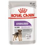 Корм Royal Canin Sterilised (паштет) для стерилизованных собак, 85 г