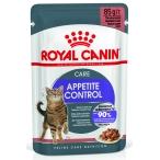 Корм Royal Canin Appetite Control (в соусе) для кошек, контроль выпрашивания корма, 85 г
