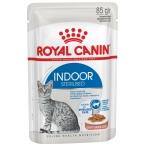 Корм Royal Canin Indoor Sterilized (в соусе) для домашних стерилизованных кошек 1-7 лет, 85 г