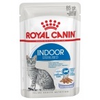 Корм Royal Canin Indoor Sterilized (в желе) для домашних стерилизованных кошек 1-7 лет, 85 г