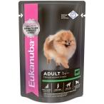 Корм Eukanuba для взрослых собак, с говядиной в соусе, 100 г
