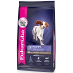 Корм Eukanuba Puppy для щенков всех пород, с ягненком и рисом, 12 кг