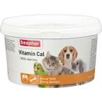 Vitamin Cal (Beaphar) rормовая добавка для кошек, собак, грызунов и птиц, для восполнения недостатка питательных веществ, 250 г