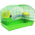 N1 клетка для грызунов укомплектованная, овальная, 58х32х41 см