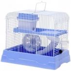 N1 клетка для хомяка укомплектованная, 30х23х25.7 см, голубая