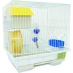 N1 клетка для хомяка укомплектованная, 2-этажная, 30х23х31 см