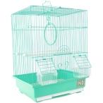 N1 клетка для птиц прямоугольная, укомплектованная, 30х23х39 см