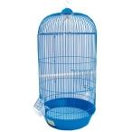 N1 клетка для птиц круглая, высокая, укомплектованная, 33х67 см