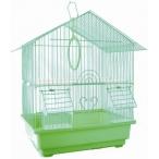 N1 клетка для птиц домик, укомплектованная, 35х28х46 см