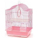 N1 клетка для птиц фигурная, укомплектованная, 35х28х46 см