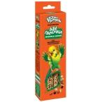 """Лакомство Веселый попугай (Зоомир) """"Две палочки"""" любимые семена для волнистых попугаев, 2х35г"""