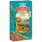 Корм Тортила Макс (Зоомир) для крупных водных черепах с креветками, 70 г