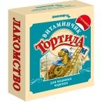 """Лакомство Тортила М (Зоомир) для водных черепах с кальцием """"Витаминчик"""", 30 г"""