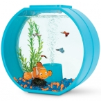 "Аквариум ""Nemo"", 20л, бирюзовый, 395*187*375мм"