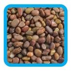 Грунт 10104A галька речная коричневый меланж, 2кг, 5-10мм