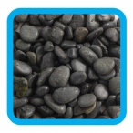 Грунт 10105A галька речная коричневый меланж, 2кг, 5-10мм
