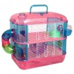 Клетка 31002A для мелких животных с переходами, эмаль, 400*260*400мм