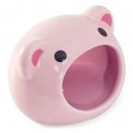"""Домик для мелких животных керамический """"Свинка"""", 75*65*65мм"""