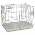 Клетка 002Z для животных, цинк, 610*455*520мм